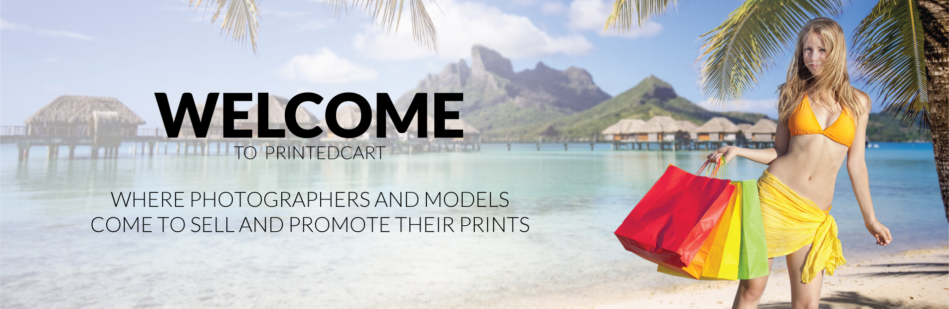 Welcome to Pritnedcart. Where photographers and models come to sell and promote their prints.